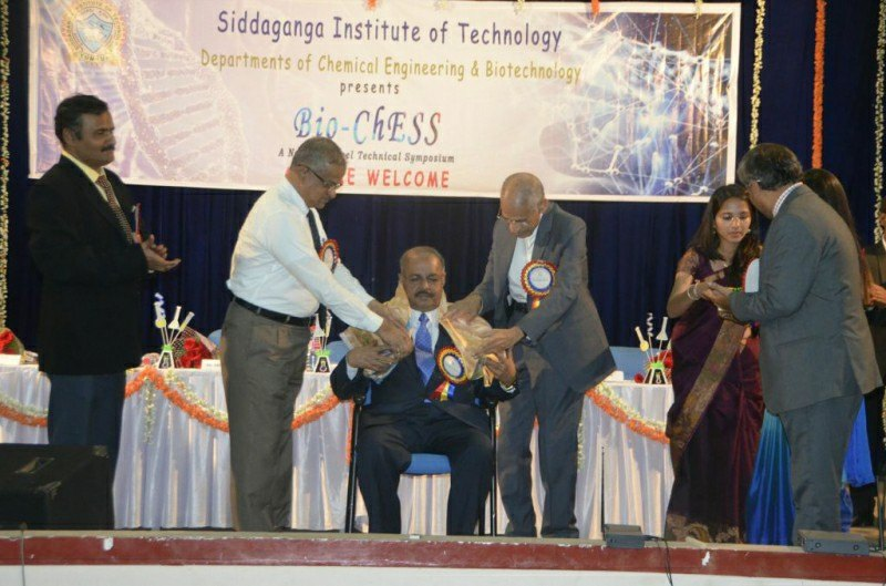 Dr. Majeed was invited as Chief Guest at the Bio-Chess event organized by Siddaganga Institute of Technology, one of the best engineering college